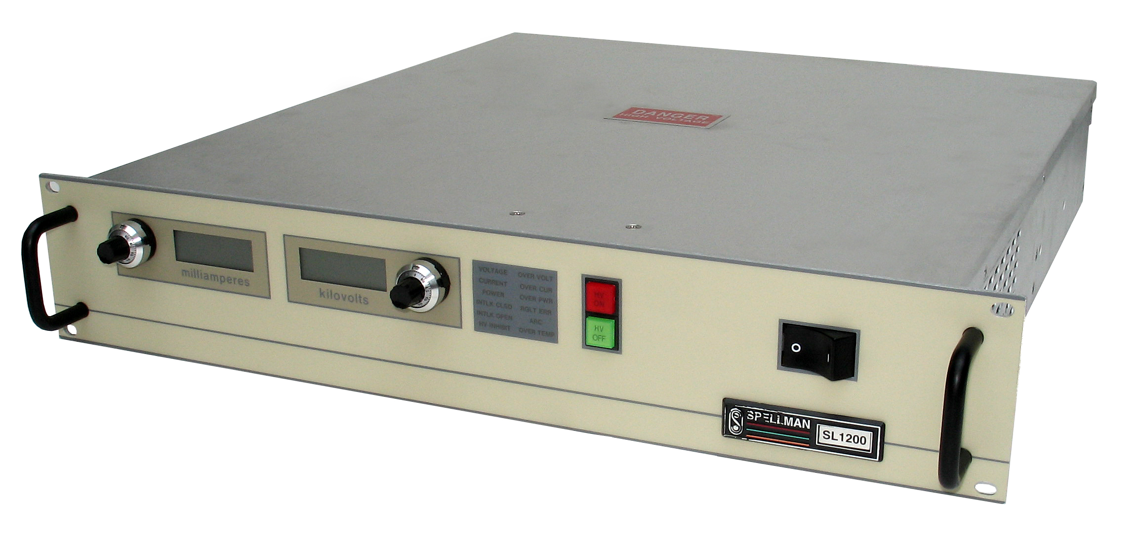 Rack Mount High Voltage Power Supplies